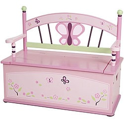 Sugar Plum Storage Bench