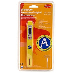 Cooper Instrument 3-in Pen Style Digital Pocket Thermometer