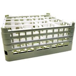 Vollrath Company 16 Compartment Rack With 3 Extenders
