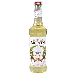 Monin Pure Cane Syrup 750ML (Pack of 12)