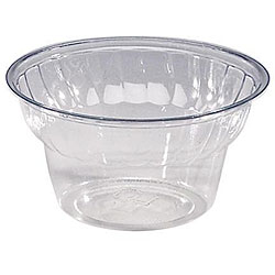WNA Comet West 5-oz PET Classic Dessert Cups (Case of 1000)