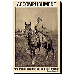 W.W. Pierce 'Accomplishment: The Greatest Doer Must Be The Greatest Dreamer' Art