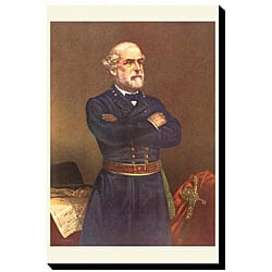 'General Robert E. Lee' Canvas Art