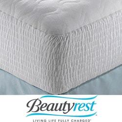 Expandable Beautyrest 100 Percent Cotton Mattress Pads (Pack of 6)