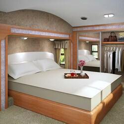 Accu-Gold Memory Foam Mattress 8-inch Twin XL-size Bed Sleep System