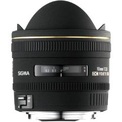 Sigma 10 mm F2.8 EX DC HSM Fisheye for Canon