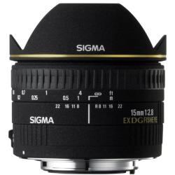Sigma 15mm F2.8 EX DG Diagonal Fisheye Lens for Canon
