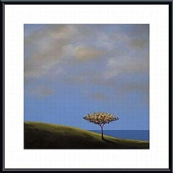 Tjasa Owen 'Ode to the Giving Tree' Metal Framed Art Print