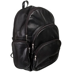 Royce Leather Expandable Backpack (Pack of 2)