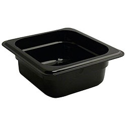 Cambro Sixth Size Black Pan