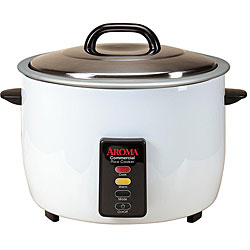 Aroma 24-cup Cooked Capacity Commercial Pot-style Rice Cooker