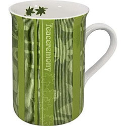Konitz 'First Flush Tea' Green 10-oz Mugs (Set of 4) 6034347
