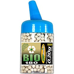 TSD Tactical 1000-count 6 mm Biodegradeable White Airsoft BB Feeder Bottle