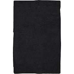 Hand-woven Santa Fe Wool Rug (8' Square)