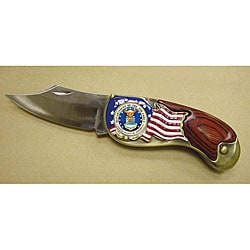 American Coin Treasures Armed Forces Quarter Air Force Pocket Knife