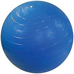 Cando Blue Inflatable Exercise Ball