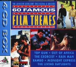 LONDON STARLIGHT ORCHESTRA & SINGER - 60 FAMOUS FILM THEMES 6121142