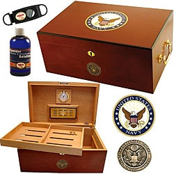 U.S. Navy Cigar Humidor One ShopFest Money Saver