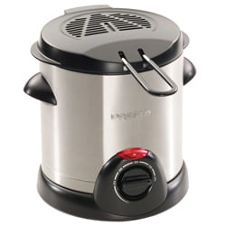 Stainless Steel 1-liter Deep Fryer
