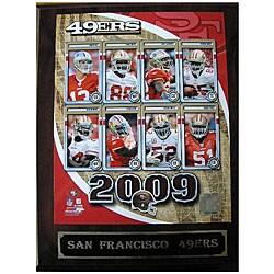 San Francisco 49ers Team Picture Plaque