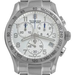 Victorinox Swiss Army Men's Classic Silver Chronograph Watch