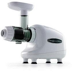 Omega J8003 White Nutrition Center Commercial Masticating Juicer