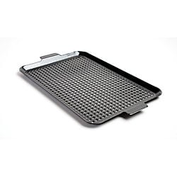 Black Porcelain-coated Large Barbecue Grid