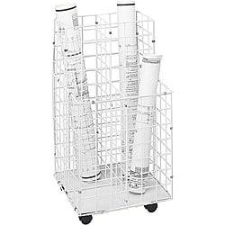 Safco Upright Four Compartment Wire Roll File