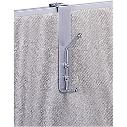 Safco Over-the-Panel Coat Hook (Pack of 12)