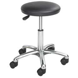 Safco Black Economy Lab Stool