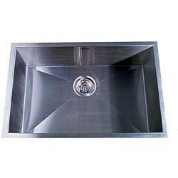 Zero Radius Single Bowl 28-inch Kitchen Sink