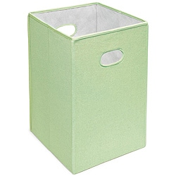 Badger Basket Sage Folding Hamper and Storage Bin