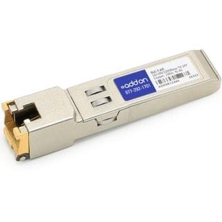 AddOn Cisco GLC-T Compatible 1000Base-TX SFP Transceiver (Copper, 100