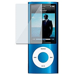 INSTEN Clear Screen Protectors for Apple iPod Gen5 Nano (Pack of 3)