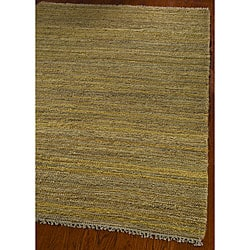Safavieh Hand-knotted All-Natural Horizons Gold Hemp Rug (4' x 6')