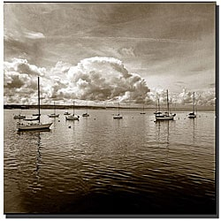 Preston 'Monteray Bay' Canvas Art