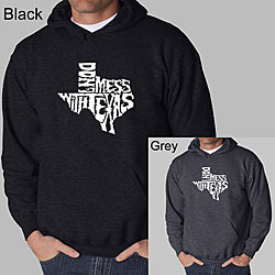 Los Angeles Pop Art Men's 'Don't Mess With Texas' Hoodie