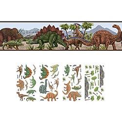 Dinosaur Self-adhesive Decor Set