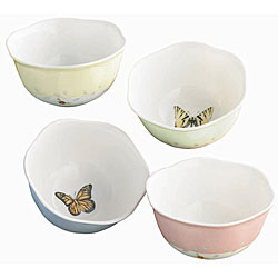 Lenox Butterfly Meadows Dessert Bowls (Set of 4)