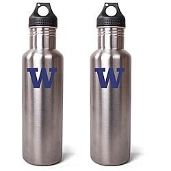 Pinemeadow Green Washington Huskies 27-oz Stainless Steel Water Bottle (Pack of 2)