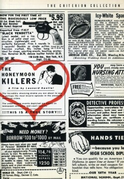 Honeymoon Killers: Criterion Collection (DVD) 526482
