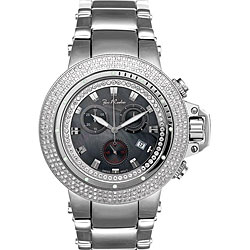 Joe Rodeo Men's Razor Stainless Steel Case Diamond Watch