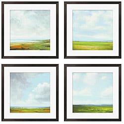 St. John 'Storm Series I-IV' Giclee Framed Prints (Set of 4)