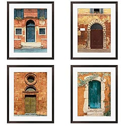 Deborah DuPont 'Door Series I-IV' Giclee Framed Art (Set of 4)