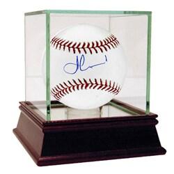 Fernando Martinez Autographed MLB Baseball