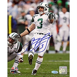 New York Jets Jay Feely Field Goal Kick 8x10 Autographed Photo