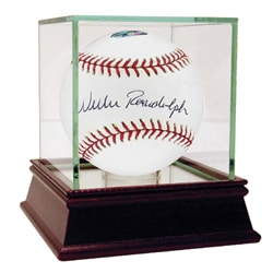 Willie Randolph Hand-signed MLB Baseball with 'Lets Go Mets' Inscription