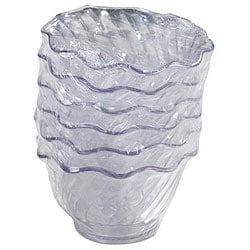 Carlisle Foodservice 6-piece 5-oz Clear Tulip Dish Set (Case of 24) 6554218
