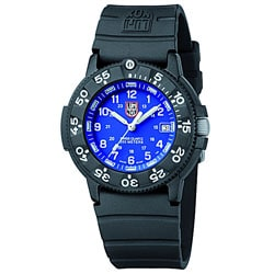 Luminox Original Navy Seal Blue Dial Black Rubber Strap Watch