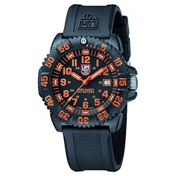 Luminox 3059 Navy Seal ColorMark Black and Orange Watch